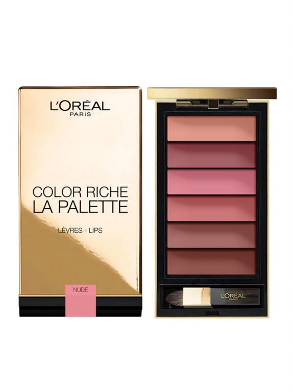 L`Oreal Paris Color Riche La Palette Matte 01 Bold Paleta